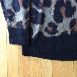 Band of Gypsies Sweaters - Band of Gypsies Leopard Sweater